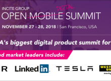 2018 Open Mobile Summit Banner - Nov 27th-28th - Burlingame, CA